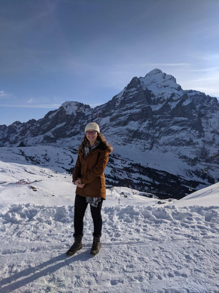 Lindsay in switzerland